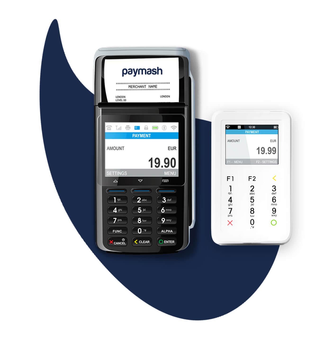 Kartenterminal-Drucker-Kartenzahlung-Mobil