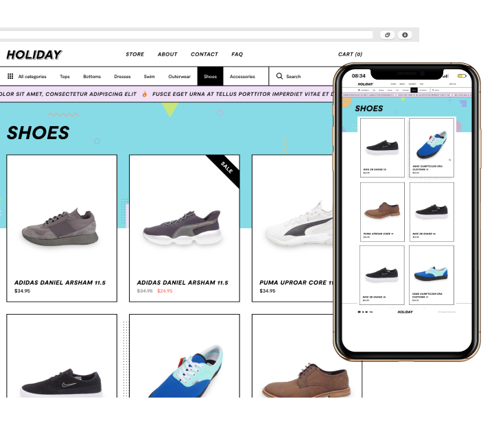 POS System mit Online Shop