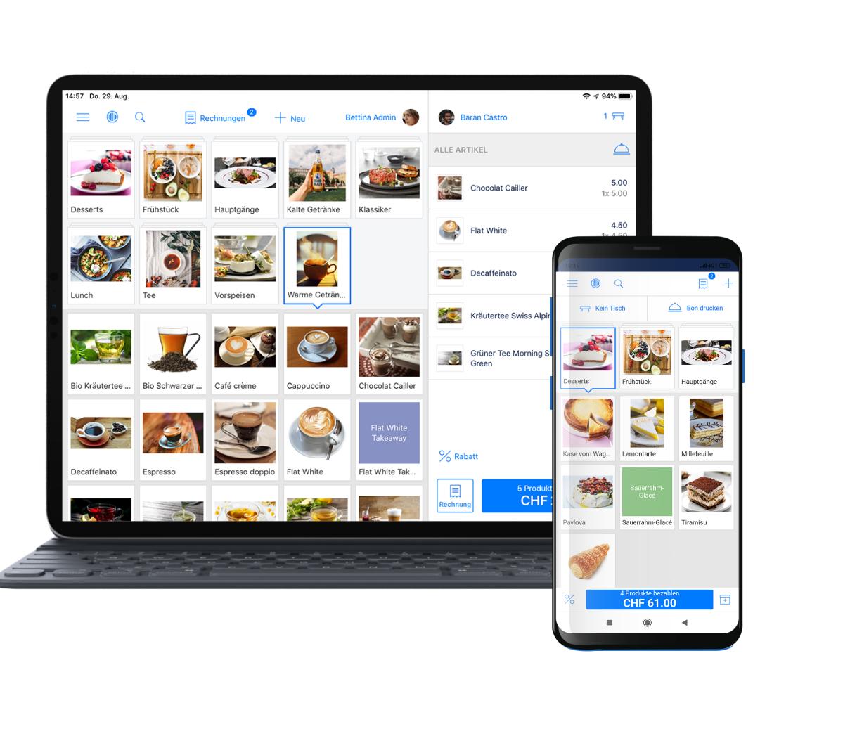 Touchkasse-Touchscreenkasse-IOS-Scanner-Android-Kompatibel