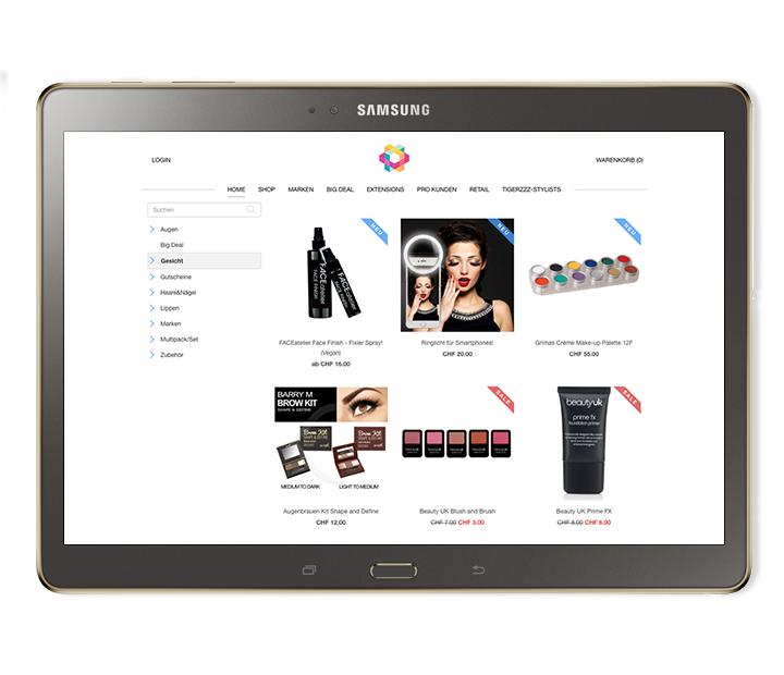 online shop beauty salon kosmetikstudio