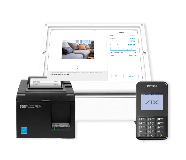 Mobile Point of sale system for retail