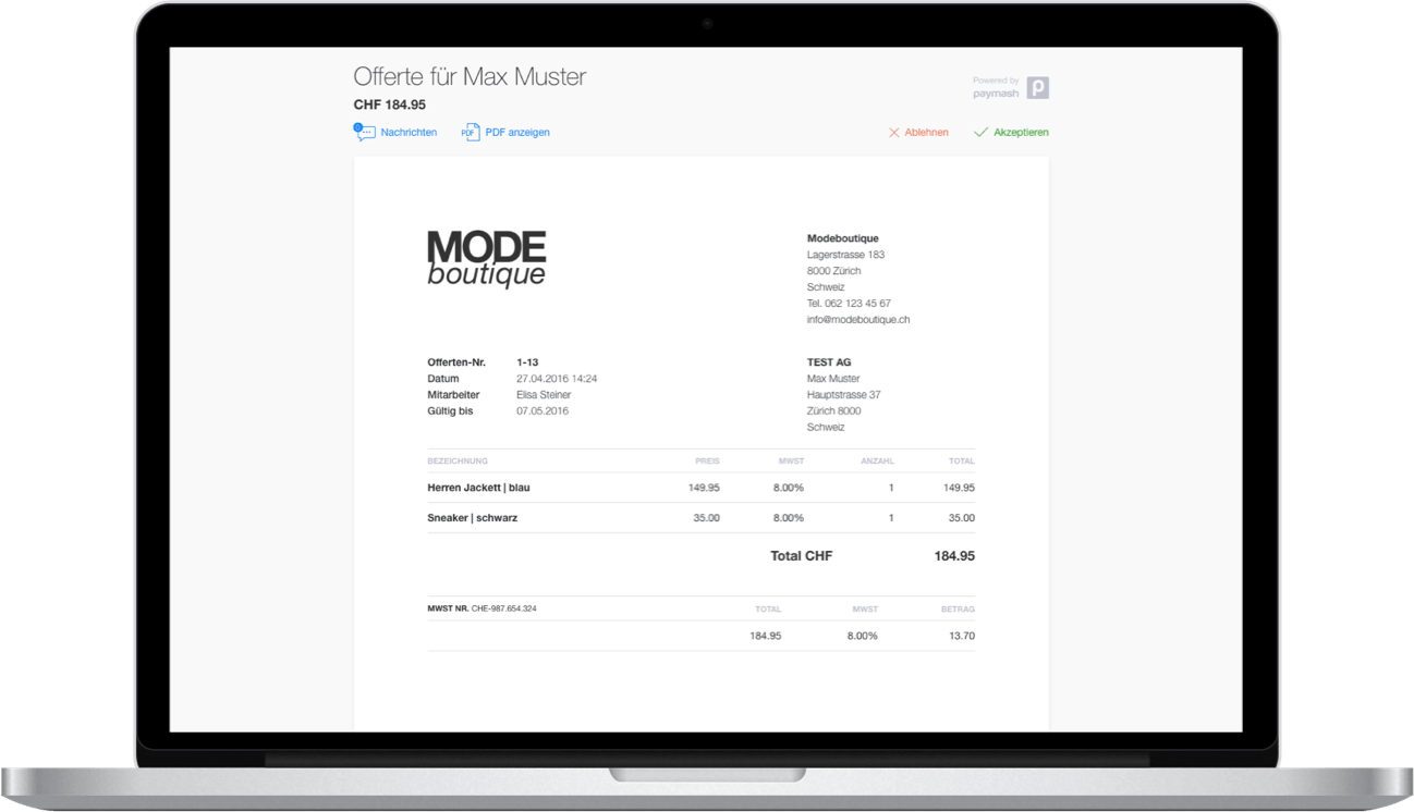 Gobd Kassensysteme Für Pos Kasse Online Shop Paymash