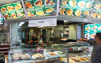 Take Away Restaurant Kunde