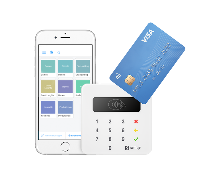 Kartenzahlung mit SumUp