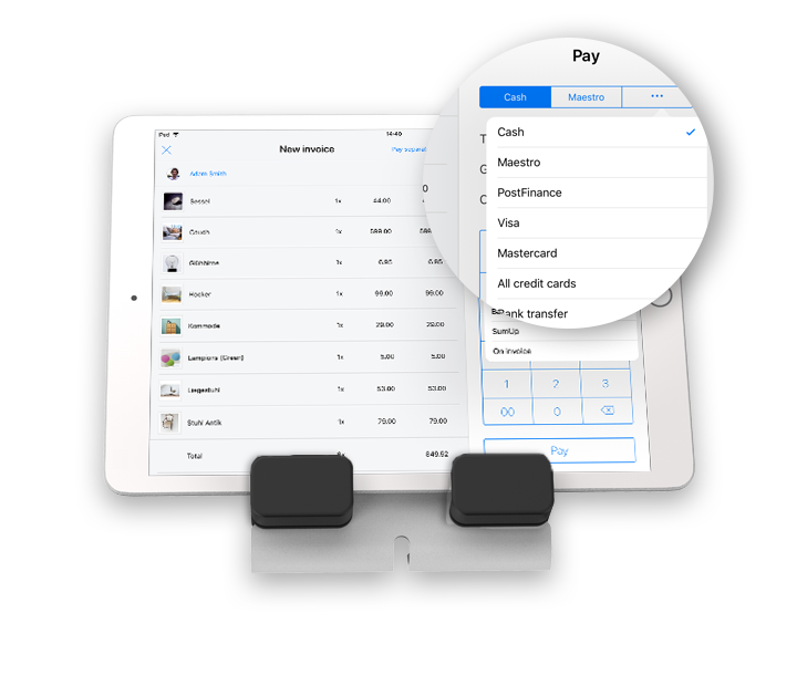 iPad als Kasse nutzen mit Kartenzahlungen
