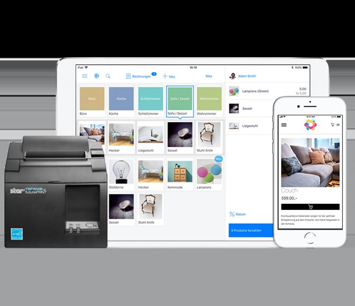 iPad Kasse und POS Printer